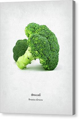 Broccoli Canvas Print by Mark Rogan