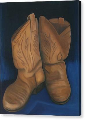 Broke In Canvas Print by Stephen Degan