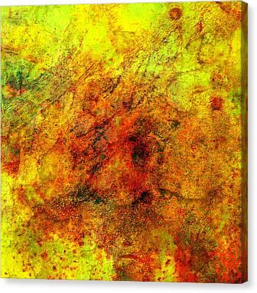 Broken Canvas Print by Ally  White