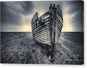 Broken Boat Canvas Print by Svetlana Sewell