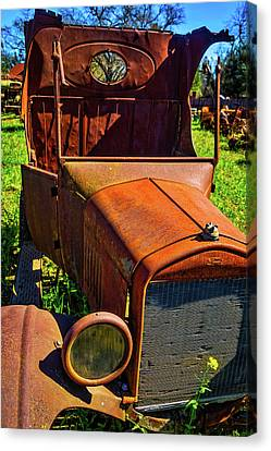 Broken Down Ford Canvas Print by Garry Gay