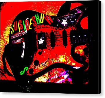 Broken Epi Canvas Print by Curt Curt