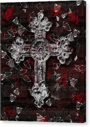 Broken Faith Canvas Print