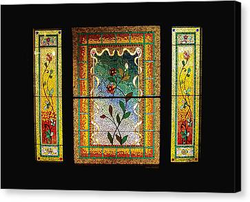 Broken Flowers Canvas Print by Donna Blackhall