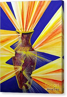Broken Vessel Canvas Print