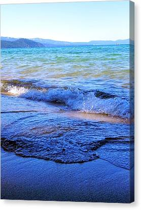 Broken Waves Canvas Print