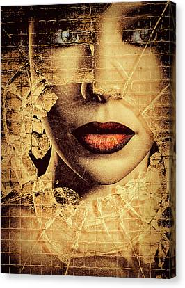 Broken Window Canvas Print by Bob Orsillo