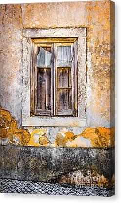 Broken Window Canvas Print by Carlos Caetano