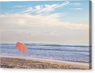 Brolly Canvas Print by Peter Tellone