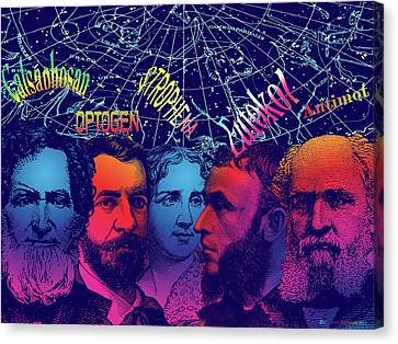 Bromides I Canvas Print by Eric Edelman