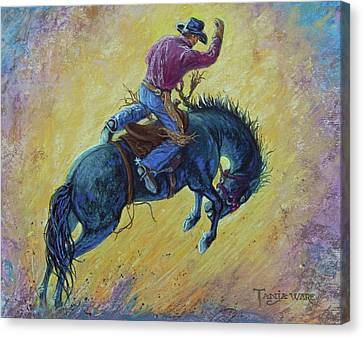 Canvas Print - Bronc Buster by Tanja Ware