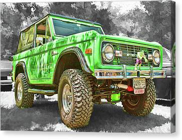 Bronco 1 Canvas Print