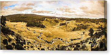 Bronte Park Valley Panorama  Canvas Print by Jorgo Photography - Wall Art Gallery