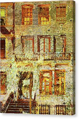 West Side Van Gogh Canvas Print by Tony Rubino