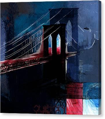 Brooklyn 199 4 Canvas Print by Mawra Tahreem