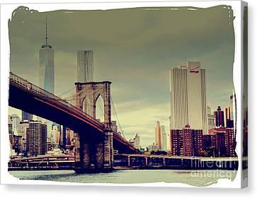 Brooklyn Bridge 2015 Canvas Print