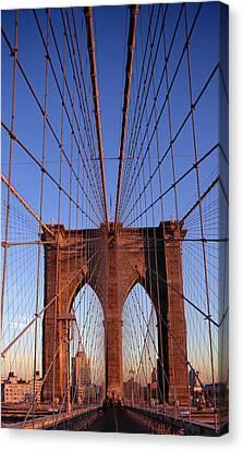 Brooklyn Bridge Canvas Print by Brooklyn Bridge