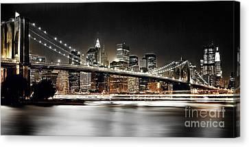 Brooklyn Bridge  Canvas Print by Gull G