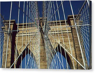 Brooklyn Bridge New York City Canvas Print