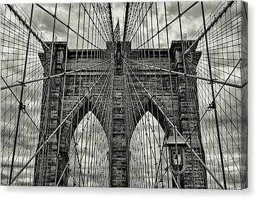 Brooklyn Bridge Canvas Print by Stephen Stookey