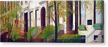 Brooklyn Brownstone Corridor 2 Canvas Print