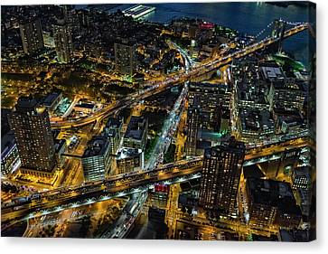 Brooklyn Nyc Infrastructure Canvas Print