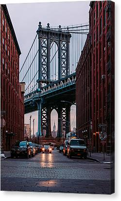 Brooklyn Sunrise Canvas Print by Emmet Hans