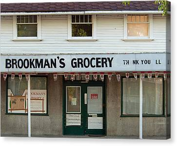 Brookman's Grocery Canvas Print