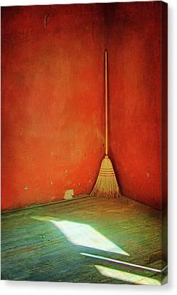 Broom Canvas Print by Nikolyn McDonald