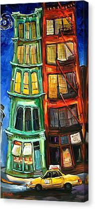 Broome Street Canvas Print by Carole Foret