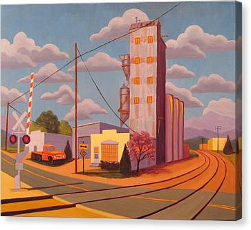 Broomfield Grain Elevator Canvas Print