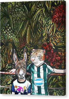 Bros Canvas Print by Stephanie Heendrickxen