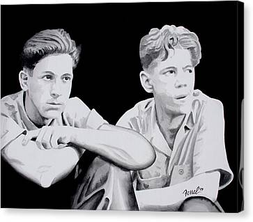 Brothers Canvas Print by Ferrel Cordle