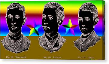 Brothers Three Canvas Print by Eric Edelman