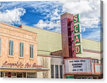 Scad Canvas Print - Broughton Street by Gestalt Imagery