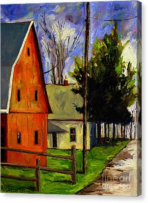 Indiana Landscapes Canvas Print - Brown Egg Man by Charlie Spear