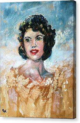 Patricia Taylor Canvas Print - Brown Eyed Girl by Patricia Taylor