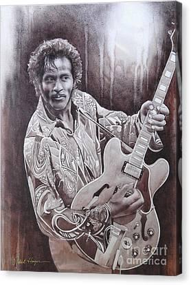 Brown Eyed Handsome Man Canvas Print by Robert Hooper