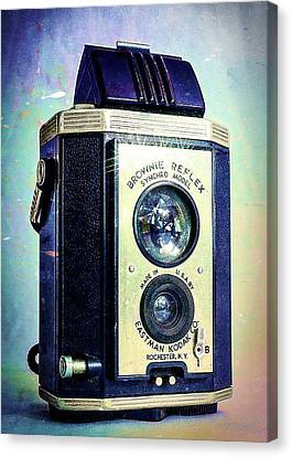 Brownie Reflex Canvas Print by Jon Woodhams