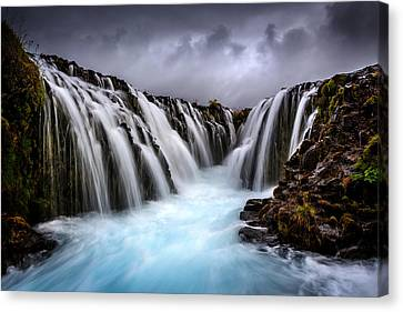 Bruarfoss Canvas Print by Sus Bogaerts