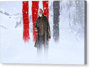 Bruce Dern The Hateful Eight Canvas Print by Movie Poster Prints
