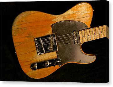 Bruce Springsteen 1953 Fender Esquire Telecaster Canvas Print