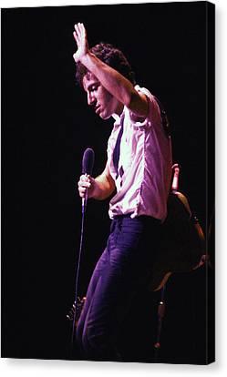 Bruce Springsteen 1980 Canvas Print
