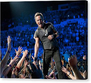 Bruce Springsteen La Sports Arena Canvas Print