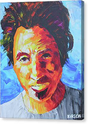 Born In The Usa Canvas Print - Bruce Springsteen by Robert Kirsch