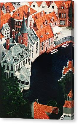Brudges, Belgium Canvas Print