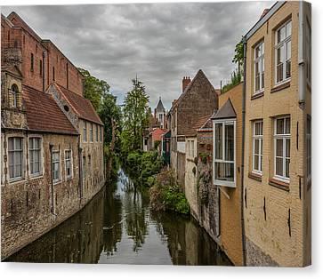 Bruges Charm Canvas Print