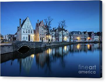 Magical Brugge Canvas Print by JR Photography