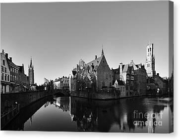 Chocolate Canvas Print - Bruges by Nichola Denny