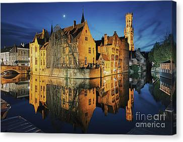 Brugge Canvas Print by JR Photography